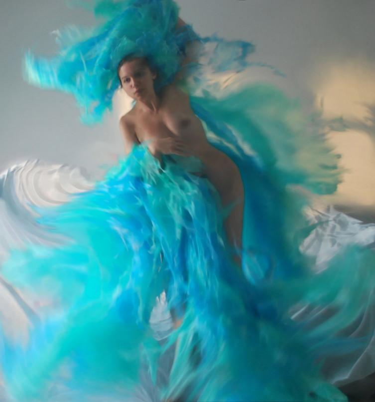 """""""Mare"""" #5 selfportrait Ilaria Facci"""