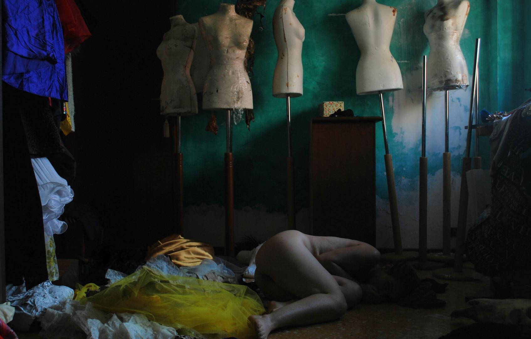 """""""I Barbari"""" Selfportrait© Ilaria Facci"""