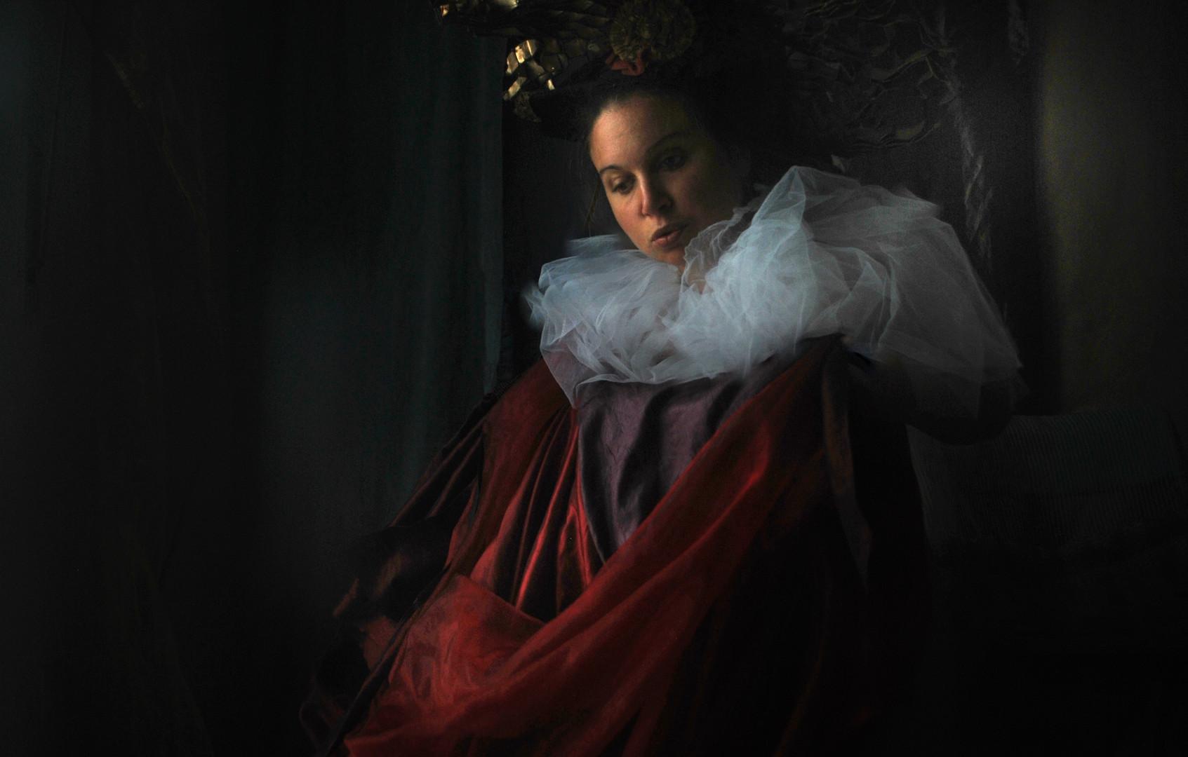 """""""Il Papa Nero"""" #4 selfportrait Ilaria Facci"""