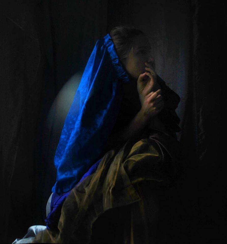"""""""Il Papa Nero""""#5 selfportrait Ilaria Facci"""