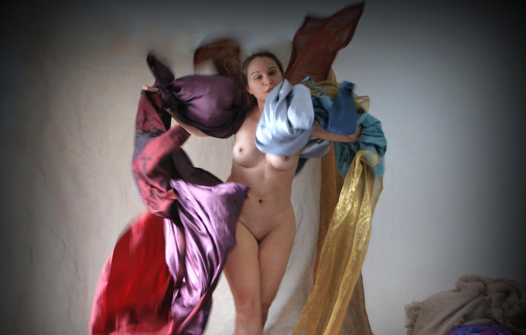 """""""La Recita a scuola"""" #6 selfportrait Ilaria Facci"""