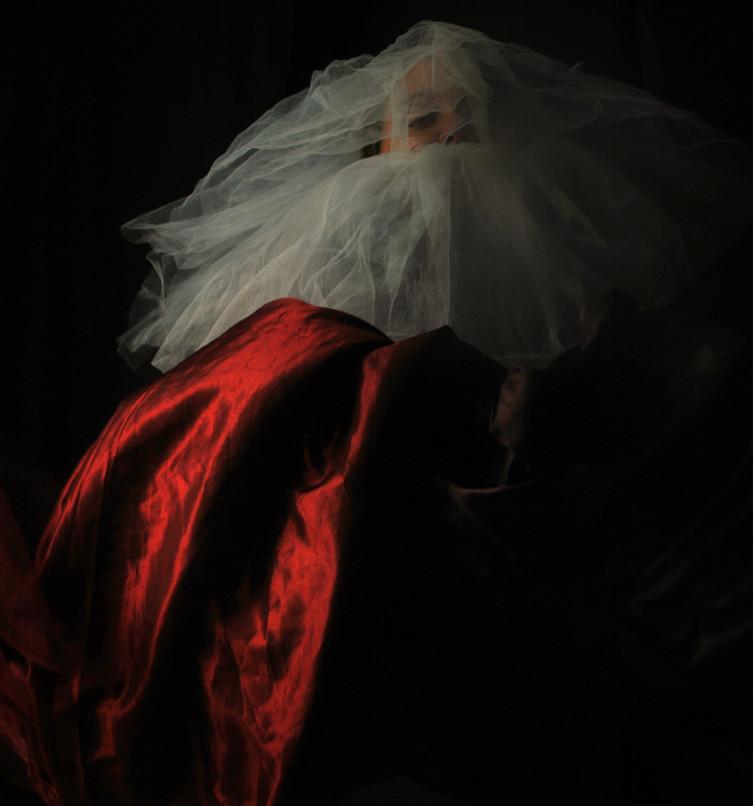 Il Papa Nero # 9 Self portrait ©I