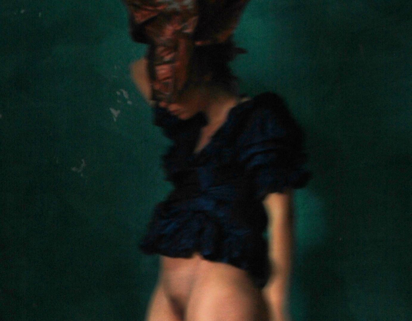 """Mise en Scène""#1 Selfportrait©Ilaria Facci"