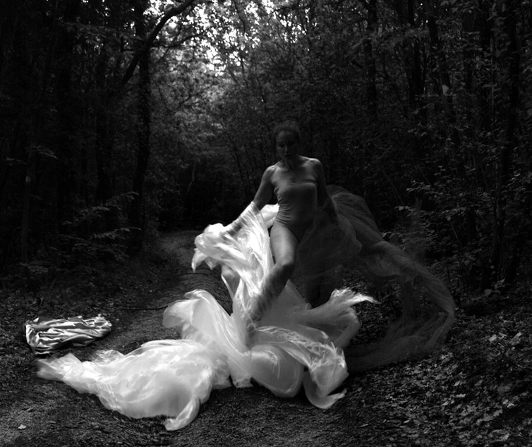 """""""Alle radici del mare"""" Selfportrait Ilaria Facci"""
