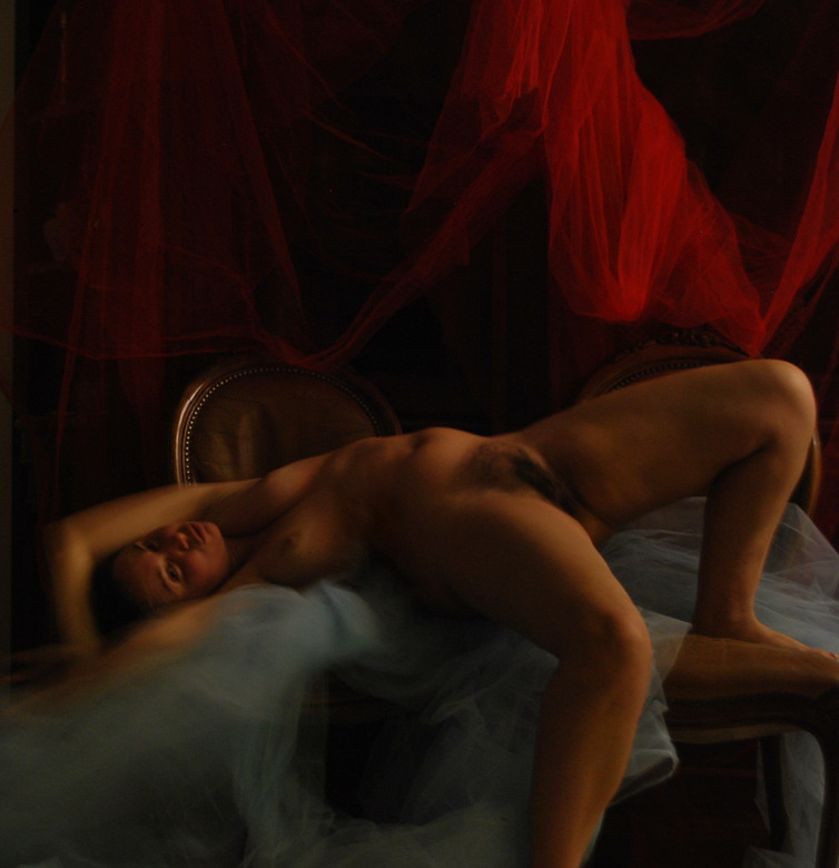 """""""L'Incubo""""#6 selfportrait Ilaria Facci"""