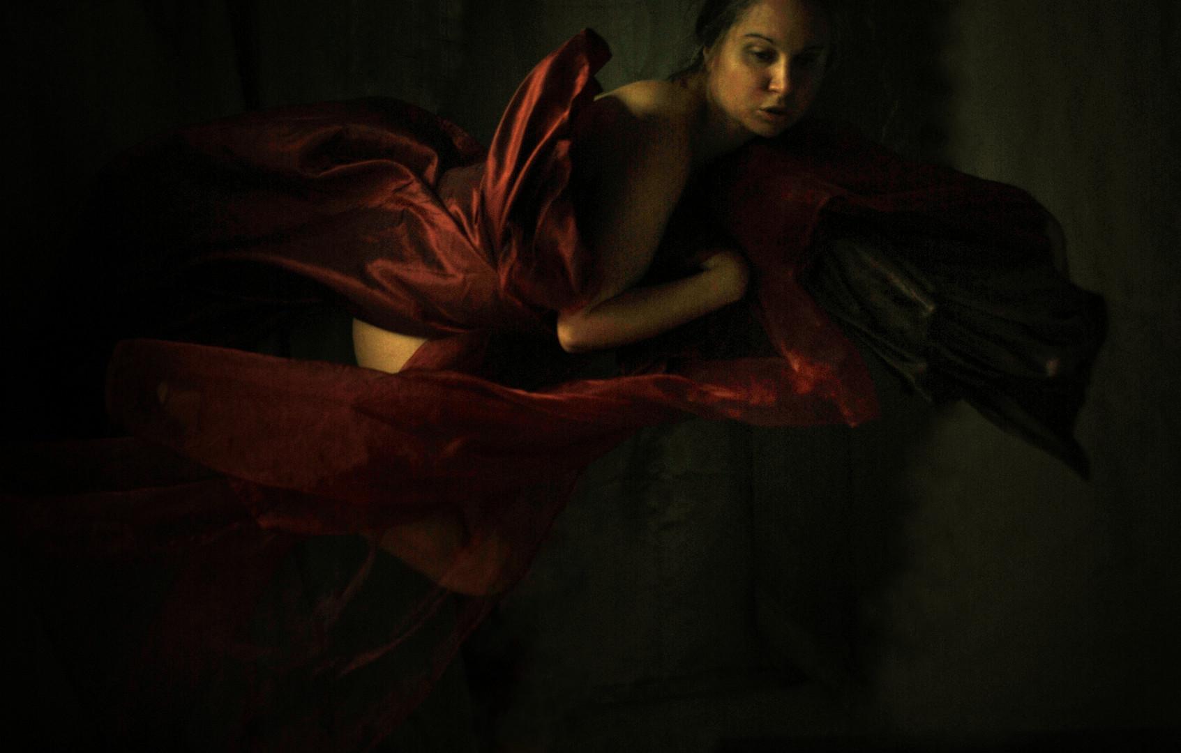 """""""Il Papa Nero"""" #3 selfportrait Ilaria Facci"""