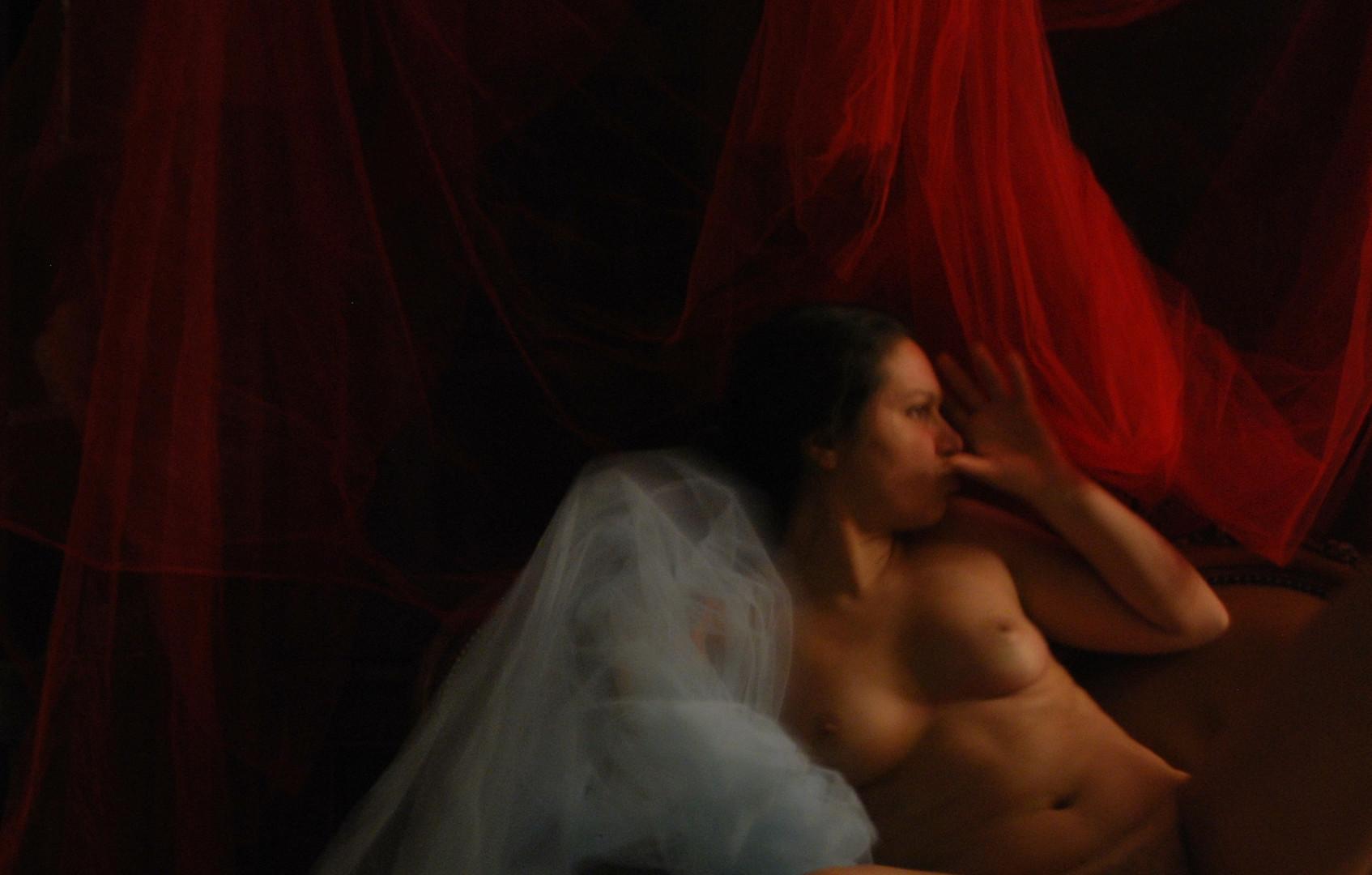 """""""L'Incubo"""" #5 selfportrait Ilaria Facci"""