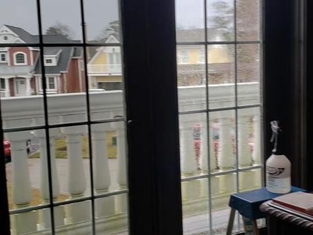 Home Window Tinting - Heat Blocking Tint - Clear UV Tint - Clear Ceramic Home Tint - Lewes Home Tint