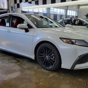 2021 Toyota Camry Tint - Limo Tint - XPEL Prime CS Window Tinting - Seaford Delaware