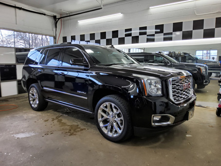 Yukon Denali Privacy Tint - Heat Blocking Tint - UV Stopping Tint - Seaford, Lewes, Sussex County DE