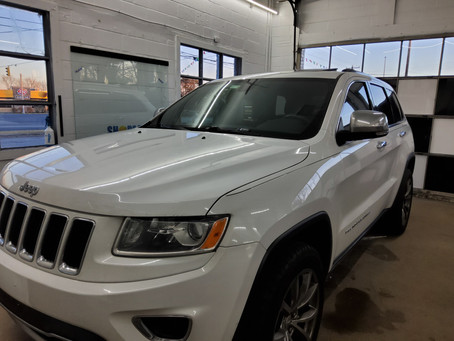 Jeep Heat Blocking Tint to match Factory in Seaford, Lewes, Rehoboth - Sussex County - Delaware