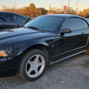 Ford Mustang Tinting - Bad Tint Fix - Medium Tint - XPEL CS Tinting Near Me - Seaford Delaware Tint