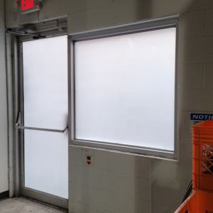 Decorative Privacy Frosting - White Matte Film - Redbull Distribution - No Visibility Tint Seaford