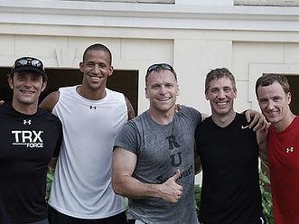 Randy Hetrick, Todd Durkin, Fraser Quelch, Nate Costa, Trevor Anderson