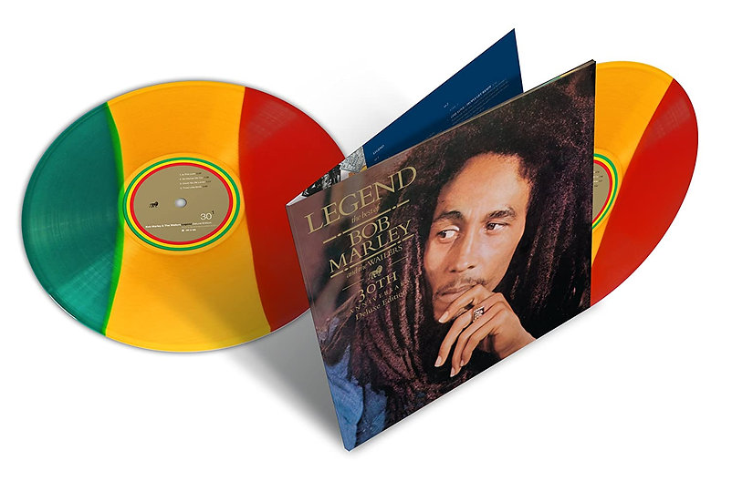 Bob Marley - Legend (30th Anniversary Tri-Color vinyl)