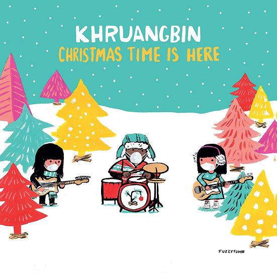 Khruangbin - Christmas Time Is Here (Red vinyl)
