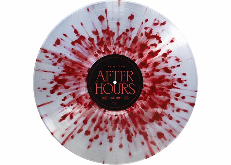 The Weeknd - After Hours (Red Splatter vinyl)