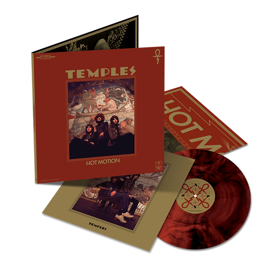 Temples - Hot Motion (Red w Black vinyl)