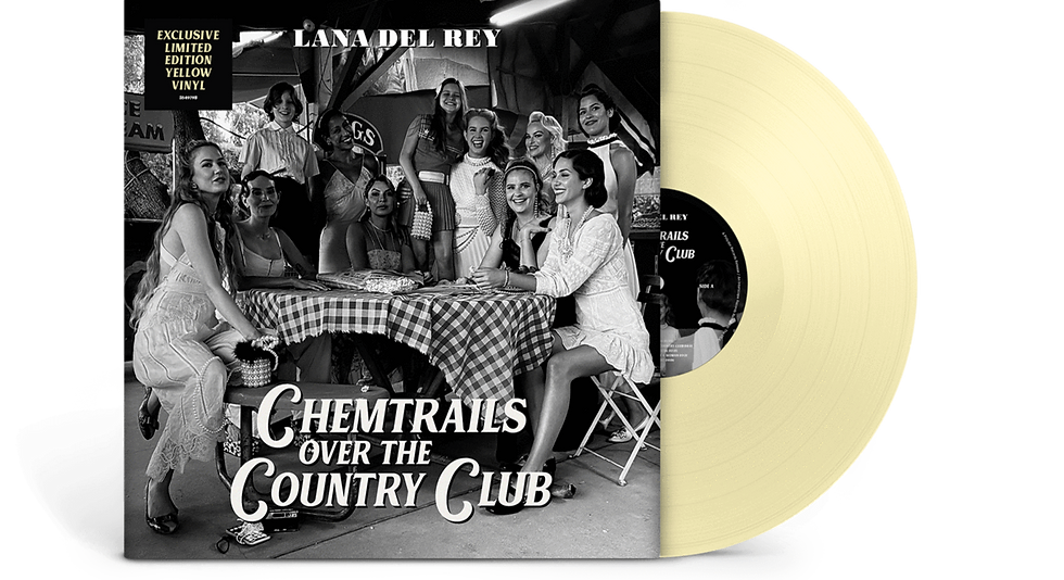 Lana Del Rey - Chemtrails Over The Country Club (Yellow vinyl)