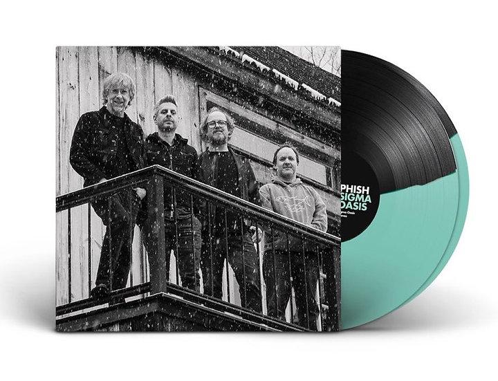 Phish - Sigma Oasis (Seafoam Black Split vinyl)
