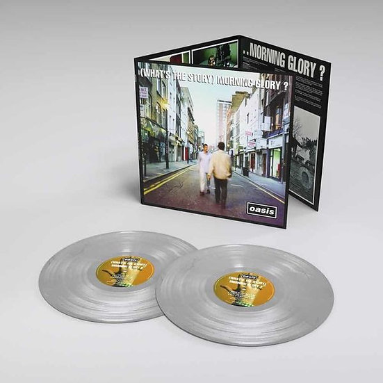 Oasis - (What's The Story) Morning Glory (Silver vinyl)