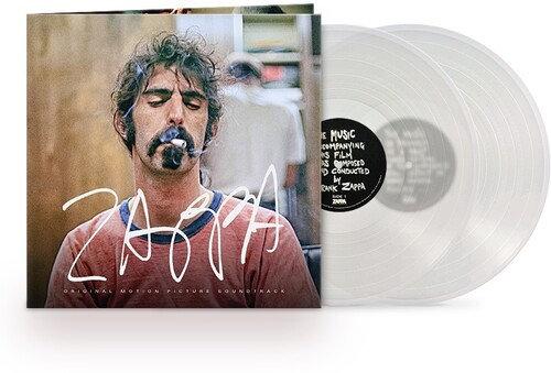 Frank Zappa - Zappa Original Motion Picture Soundtrack (Clear vinyl)