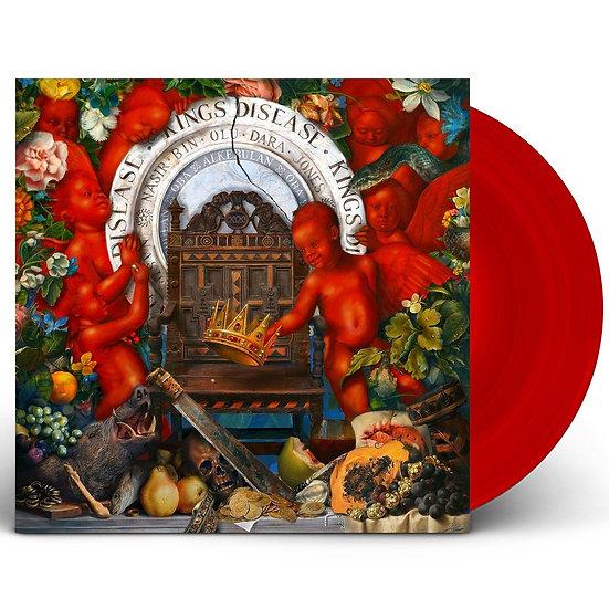 Nas - King's Disease (Red vinyl)