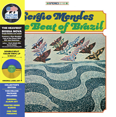 Sergio Mendes - The Beat of Brazil (Green Yellow vinyl)
