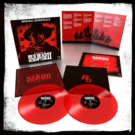 The Music of Red Dead Redemption 2 (Red vinyl)