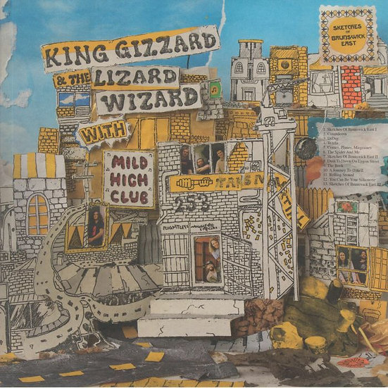 King Gizzard & The Lizard Wizard - Sketches Of Brunswick East (LRS2020)