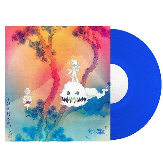 Kid Cudi/Kanye West - Kids See Ghosts (Blue vinyl)