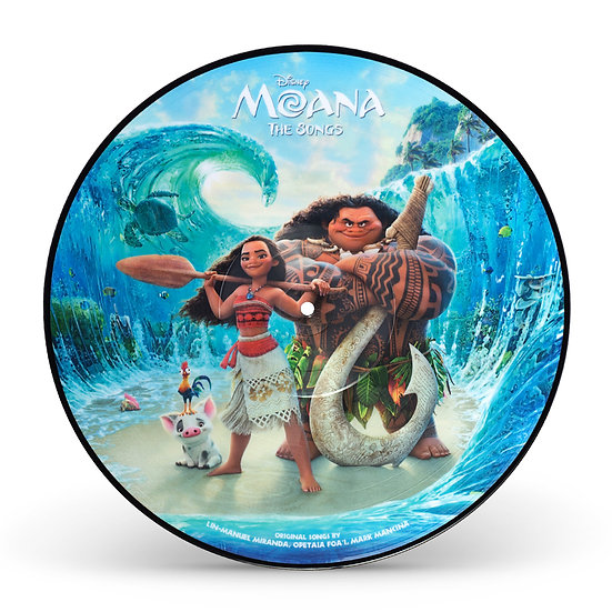 Moana - The Songs (picture disc)