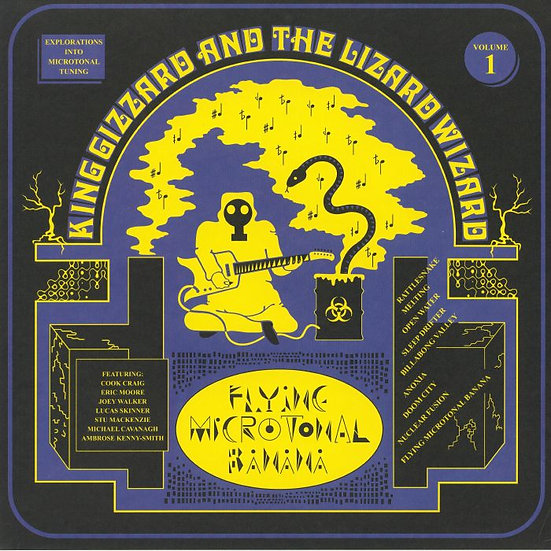 King Gizzard & The Lizard Wizard - Flying Microtonal Banana (LRS 2020)