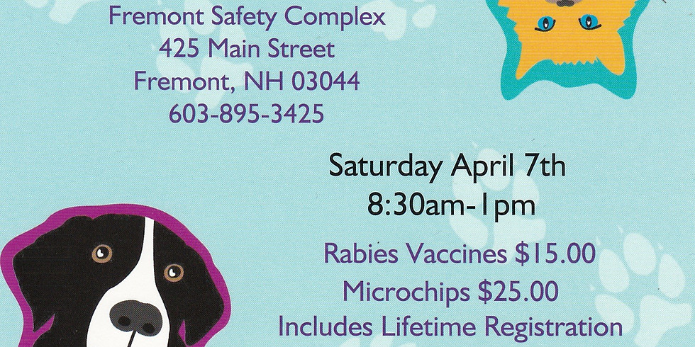 Fremont Rabies Clinic