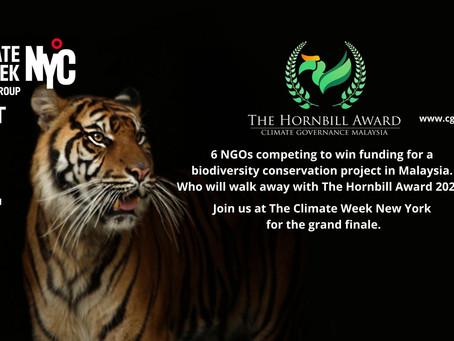 The Hornbill Award - 2021 finalists