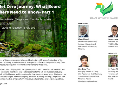 Net Zero Journey Part 1: What Board Members Need to Know