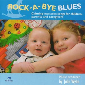 rock-a-bye blues, Julie Wylie CD music for children babies toddlers