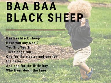 Why Baa Baa Black Sheep Matters! | Musical Play