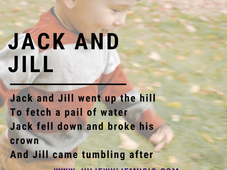 Why Jack and Jill Matters! | Musical Play