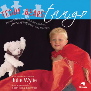teddy bears tango, Julie Wylie CD music for children babies toddlers