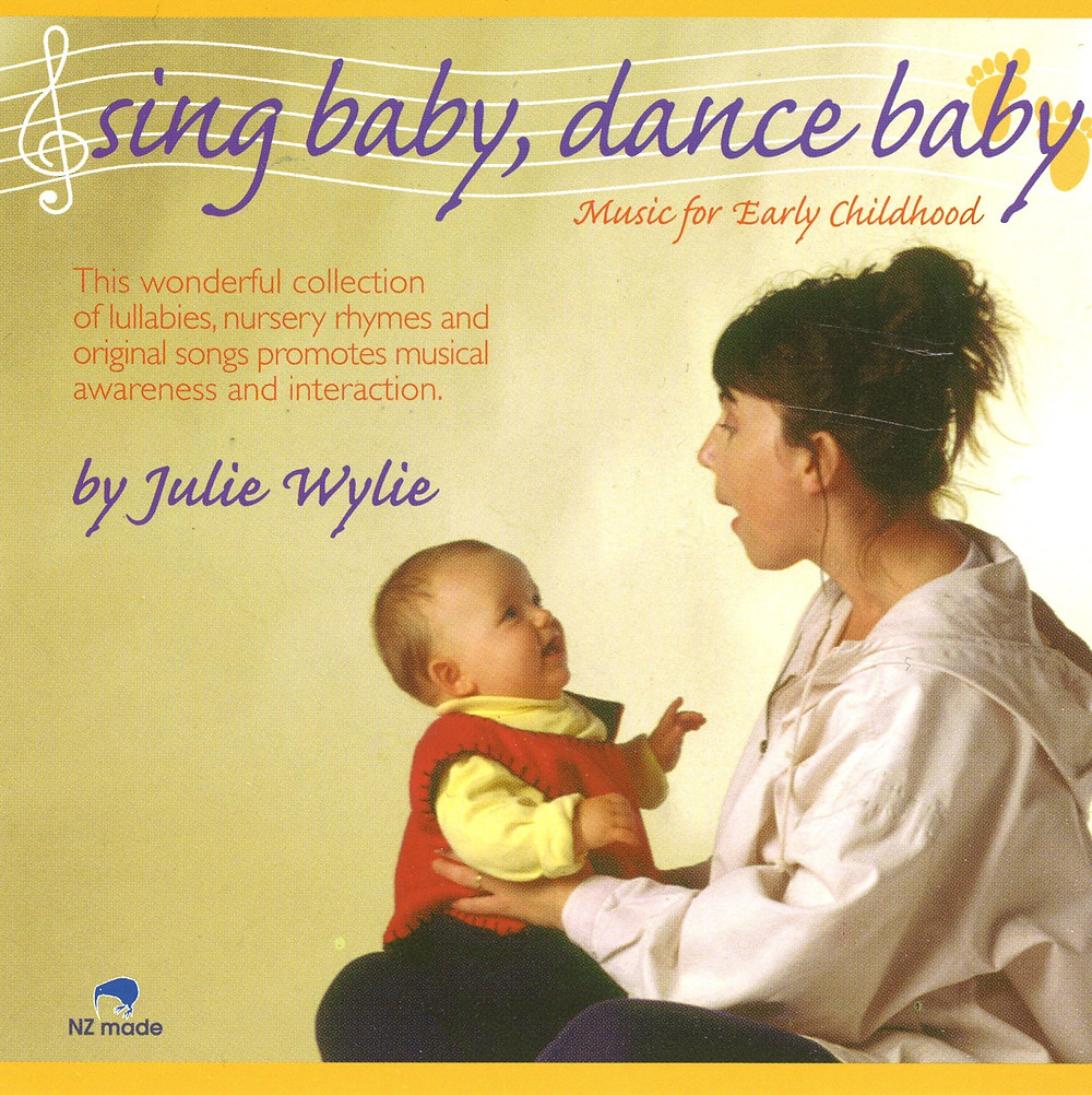 sing baby dance baby, Julie Wylie CD music for children babies toddlers
