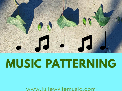 At Home Learning: Music Patterning | Musical Play