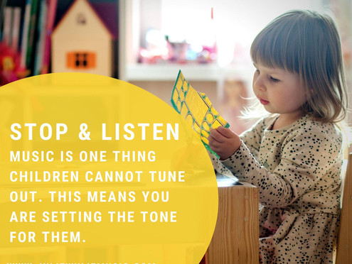 Why You Should Be Mindful of Background Music in Early Childhood Settings | Musical Play