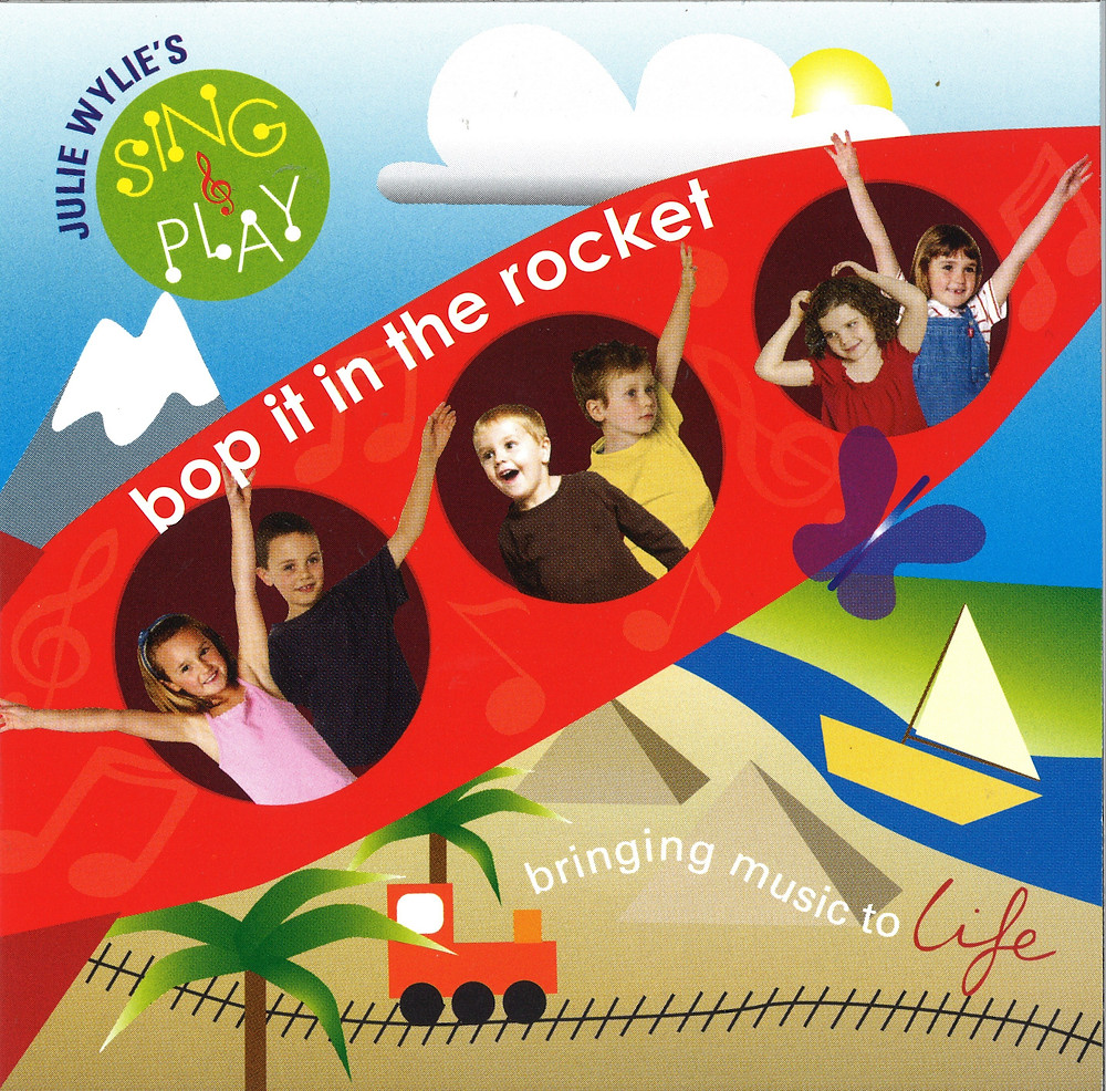 Julie Wylie bop it in the rocket CD music for children babies toddlers