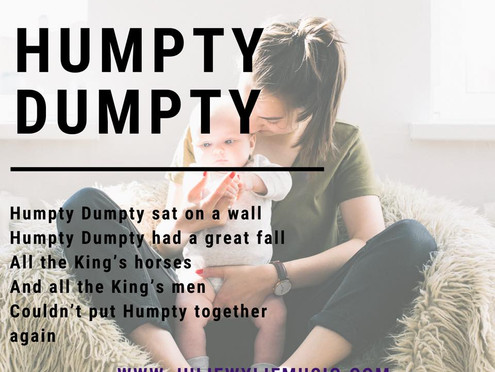 Why Humpty Dumpty Matters! | Musical Play