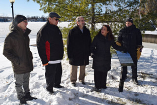 Ste. Anne's inaugurates plaque to commemorate bond with Kahnawake