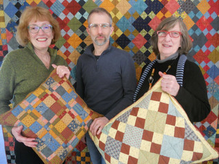 Hudson Village Quilters create Night Comfort for Palliative Care