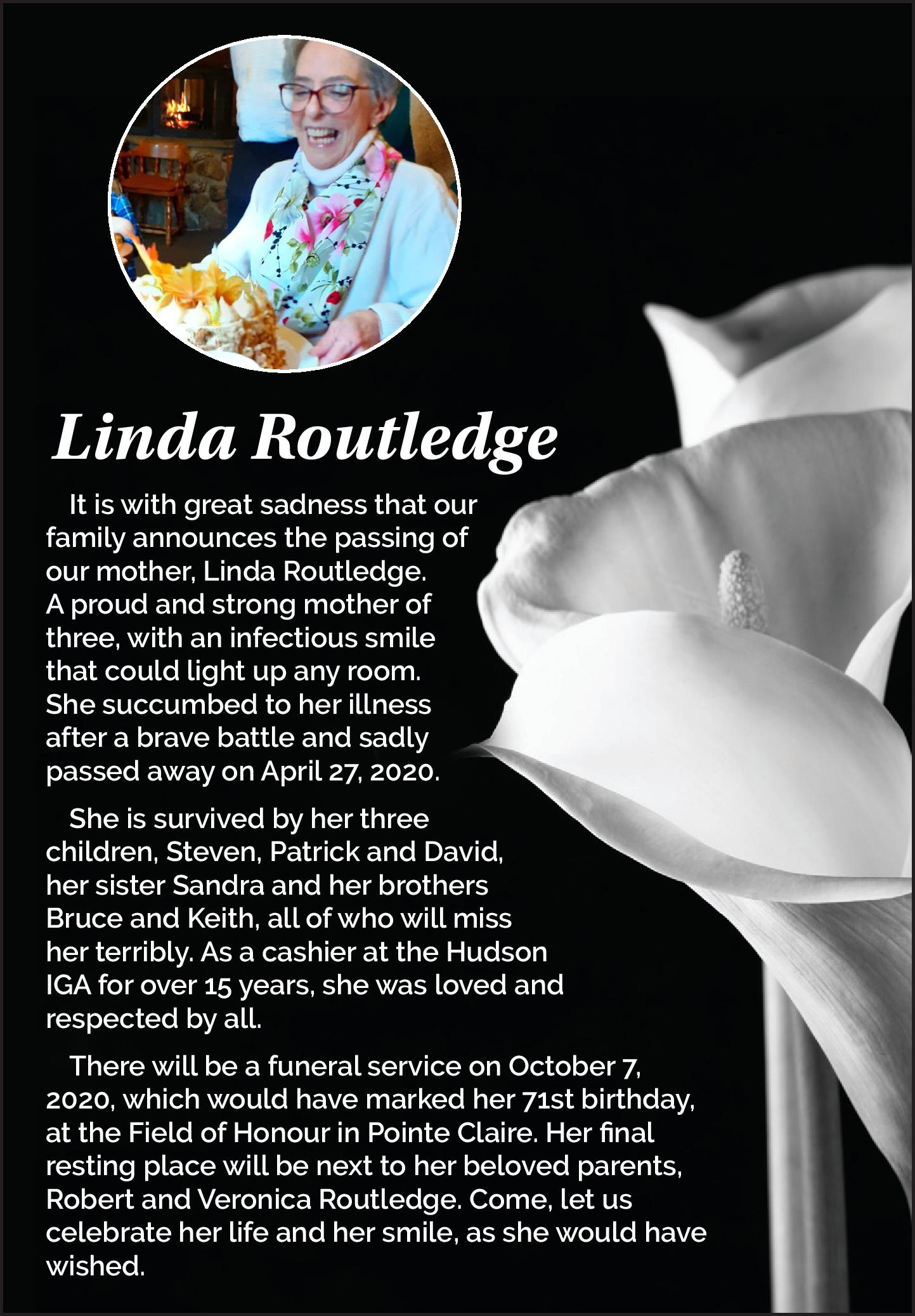 Linda Routledge