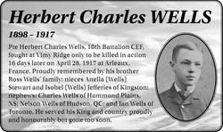 Herbert Charles Wells