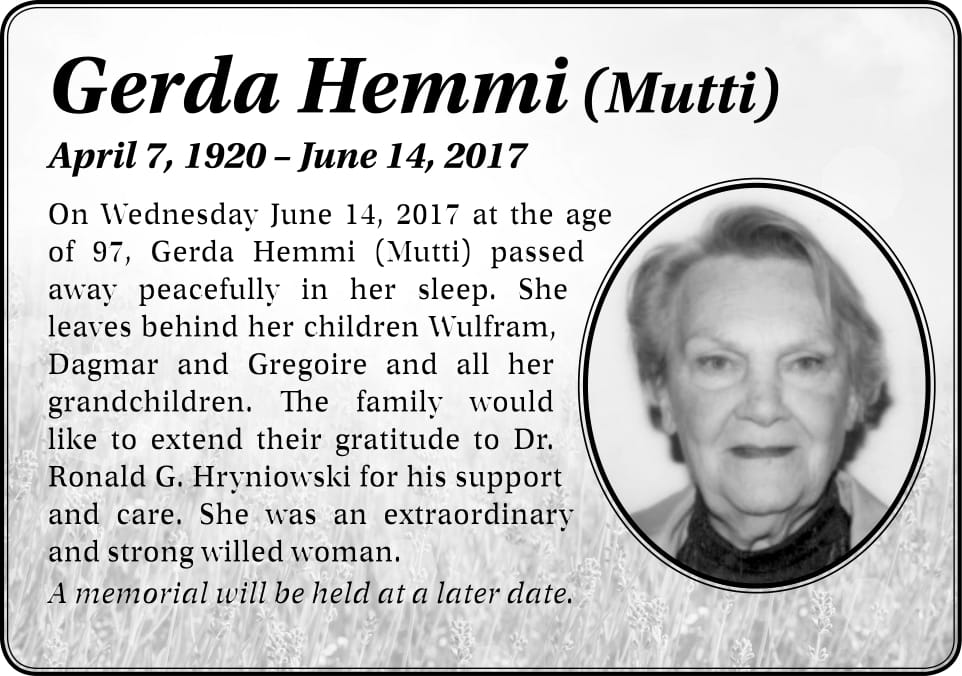Gerda Hemmi